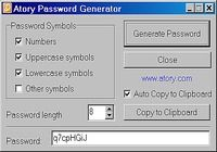 Atory Password Generator pour mac