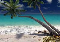 Sandy Beach 3D Screensaver pour mac