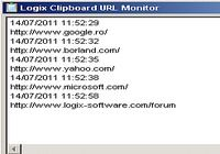 Logix Clipboard URL Monitor pour mac