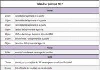 Calendrier politique 2017 pour mac