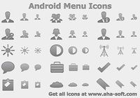 Android Menu Icons pour mac