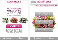Aquarelle livraison de fleurs Android pour mac