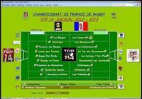 TOP 14  2012-2013 pour mac