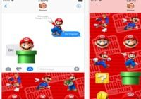 Super Mario Run Stickers iOS pour mac