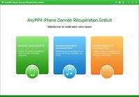 AnyMP4 iPhone Donnée Récupération Gratuit pour mac