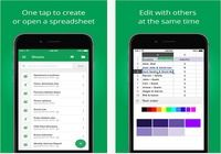 Google Sheets iOS pour mac