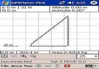 GPSMeter PDA pour mac