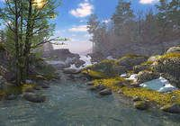 Springtime 3D Screensaver pour mac
