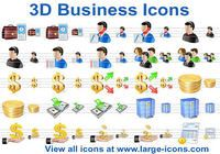 3D Business Icons pour mac