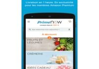 Amazon Prime Now android pour mac