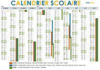 Calendrier Scolaire 2015 - 2016 avec zones pour mac