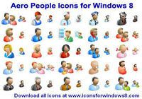 Aero People Icons for Windows 8 pour mac