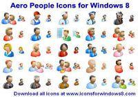 Aero People Icons for Windows 8 pour mac