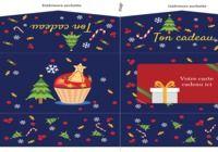 Pochette carte cadeau de Noël pour mac