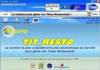 AZURO - TITRES ET TICKETS RESTAURANT pour mac