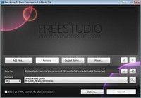 Free Audio to Flash Converter pour mac