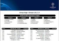 Calendrier Officiel de la Ligue des Champions 2018 2019 pour mac