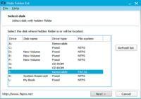 Hide Folder Ext pour mac