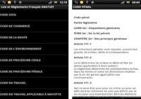 Lois et règlements français Android pour mac