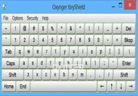 Oxynger KeyShield