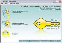 Project Password pour mac