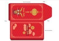 Pochette carte cadeau Dragon  pour mac