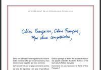 Télécharger Lettre de Macron PDF