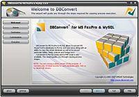 DBConvert for MS FoxPro & MySQL pour mac