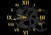 Clock Mechanism Screensaver