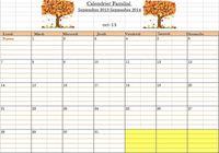 Calendrier Familial 2013-2014 pour mac