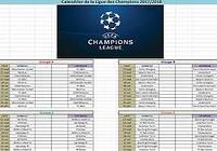 Calendrier Ligue des Champions 2015 - 2016 pour mac