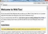 Wikitaxi pour mac