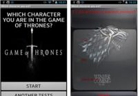 Who are you in Game of Thrones Android pour mac