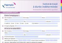 Contrat de travail assistant(e) maternel(le) agréé(e) pour mac