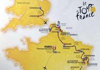 Le tracé du tour de France 2014 pour mac
