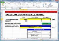 Calcul simplifié de l'Impot sur le revenu pour mac