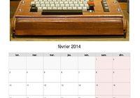Calendrier 2014 PDF  l'histoire des ordinateurs pour mac