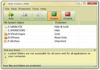 Hide Folders 2009 pour mac
