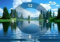 Lake Clock Screensaver pour mac