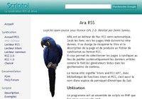 ARA Editeur RSS pour mac