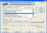 Power CD+G to Video Karaoke Converter pour mac