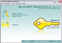 Word 2007 Password pour mac