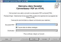 Pdf2html pour mac