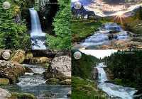 Nature, cascades et torrents