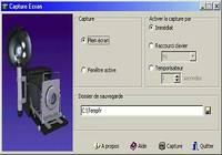 Capture Ecran pour mac