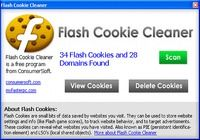 Flash Cookie Cleaner pour mac
