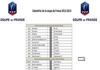 Calendrier Coupe de france de Football 2014 pour mac