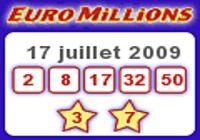 EuroMillions - Gadget résultat pour mac