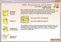 LastBit AOL Password Recovery pour mac
