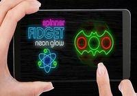 Fidget spinner néon lueur Android